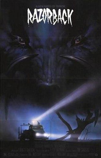 Razorback (film) - Razorback poster