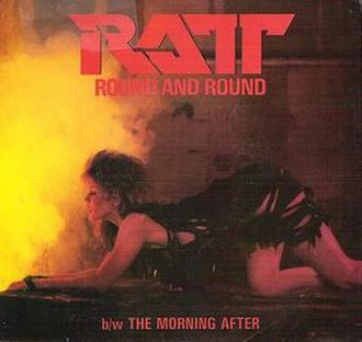 Round and Round (Ratt song) - Image: Round and Round (Ratt single cover art)