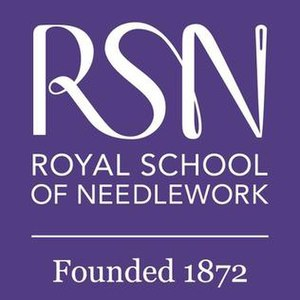 Royal School of Needlework - Image: Royal School of Needlework logo