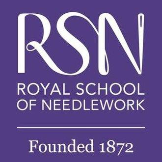 Royal School of Needlework - Image: Royal School of Needlework logo