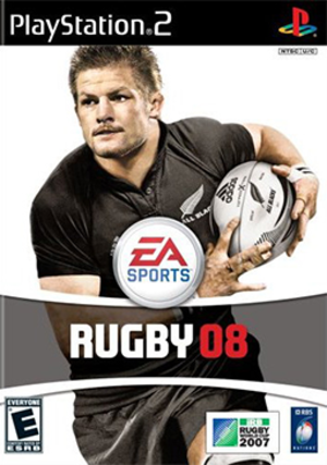 Rugby 08 - Image: Rugby 08 Coverart