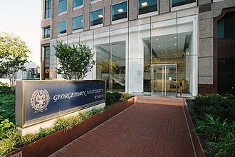 Georgetown opened a building for the School of Continuing Studies in Downtown D.C. in 2013. SCSJPG.jpeg