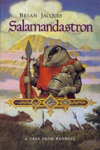 Salamandastron - US cover of Salamandastron