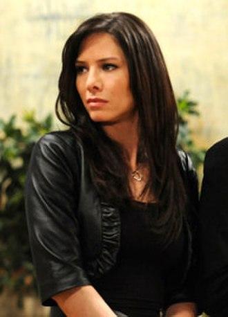Claudia Zacchara - Image: Sarah Brown as Claudia Zacchara