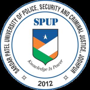 Sardar Patel University of Police, Security and Criminal Justice - Image: Sardar Patel University of Police, Security and Criminal Justice logo
