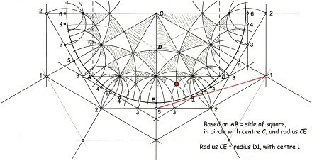 Schattschneider Reconstruction of Escher's Coxeter Diagram