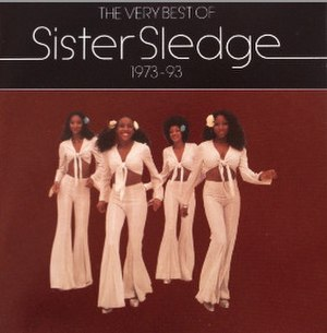 The Very Best of Sister Sledge 1973–93 - Image: Sister Sledge The Very Best of Sister Sledge 1973–93 alternative album cover