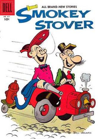 Bill Holman (cartoonist) - Image: Smokeystoverdell