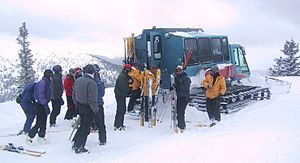 Ski lift - Snowcat service in Colorado, USA