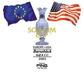 2003 Solheim Cup - Image: Solheim Cup 2003Logo