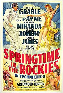 <i>Springtime in the Rockies</i> 1942 film by Irving Cummings