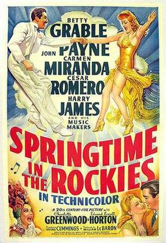Springtime in the Rockies - Image: Springtimeintherocki es