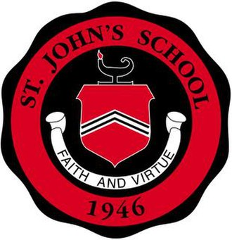 St. John's School (Texas) - Image: St. John's School Seal