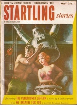 Startling Stories 1953 May cover