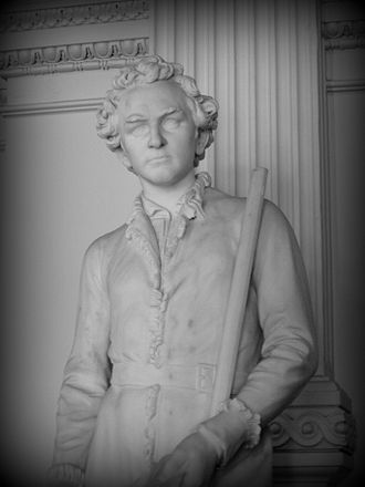 Stephen F. Austin - Marble sculpture of Stephen F. Austin (1903) by Elisabet Ney at the Texas State Capitol