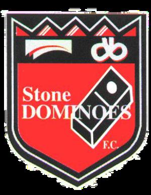Stone Dominoes F.C. - Image: Stone Dominoes Logo