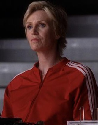 Sue Sylvester - Jane Lynch as Sue Sylvester in season 2 of Glee