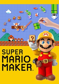 <i>Super Mario Maker</i> level editor video game developed for the Wii U and Nintendo 3DS in 2015/2016