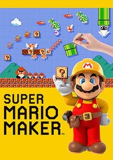 <i>Super Mario Maker</i> level editor video game