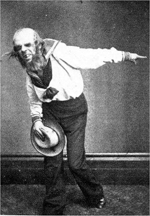 Richard Temple (bass-baritone) - Temple as Dick Deadeye in H.M.S. Pinafore