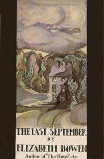 <i>The Last September</i> novel by Elizabeth Bowen