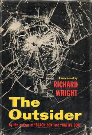 The Outsider (Wright novel) - First edition
