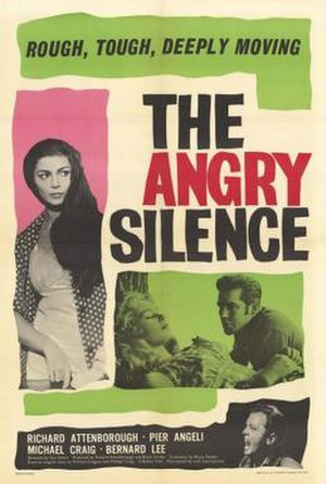 The Angry Silence - Image: The Angry Silence Film Poster
