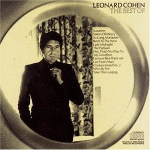 The Best of Leonard Cohen - Image: The Best of Leonard Cohen