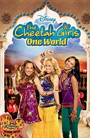 "The Cheetah Girls: One World - Cover of the ""Extended Music Edition"" DVD"