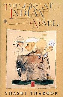 <i>The Great Indian Novel</i> Book by Shashi Tharoor