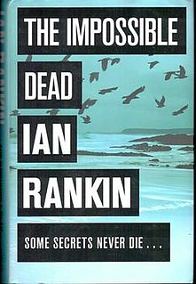 <i>The Impossible Dead</i> book by Ian Rankin