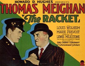 The Racket (1928 film) - Theatrical release poster