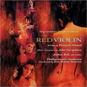 The Red Violin (soundtrack) - Image: The Red Violin cd