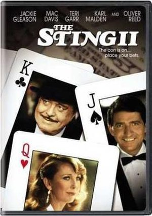 The Sting II - DVD cover
