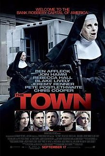 <i>The Town</i> (2010 film) 2010 American crime drama film directed by Ben Affleck