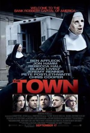 The Town (2010 film) - Theatrical release poster