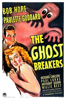 <i>The Ghost Breakers</i> 1940 comedy film directed by George Marshall
