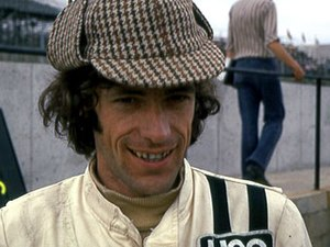 Tom Pryce - Pryce at Brands Hatch in 1974