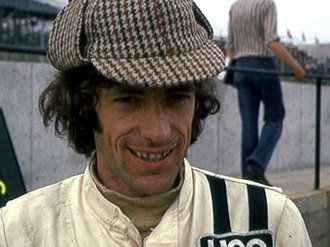 Tom Pryce - Pryce at Brands Hatch in 1974