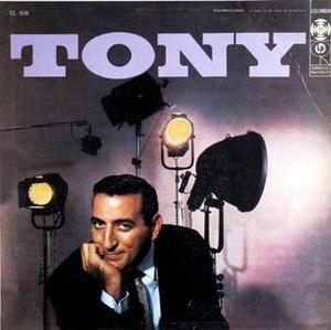 Tony (album) - Image: Tony (album)