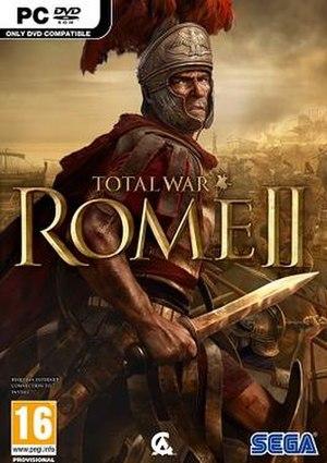 Total War: Rome II - Image: Total War Rome II cover