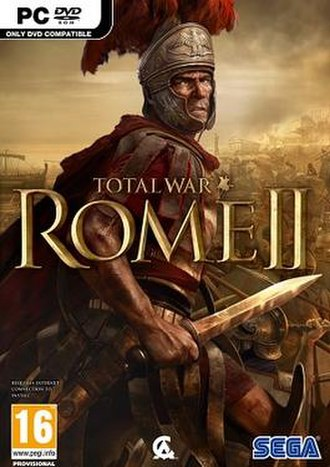 Total War: Rome II - Image: Total War Rome II cover