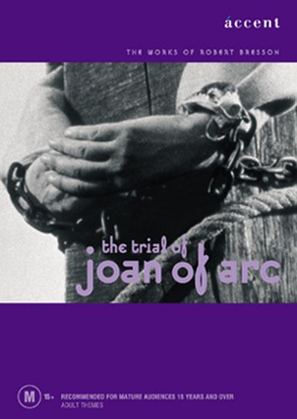 The Trial of Joan of Arc - Australian DVD cover