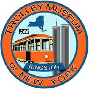 Trolley Museum of New York - Image: Trolley Museum of New York logo 2017