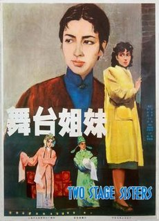 <i>Two Stage Sisters</i> 1964 film directed by Xie Jin