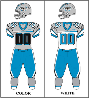 Las Vegas Locomotives - 2009 Locos uniforms