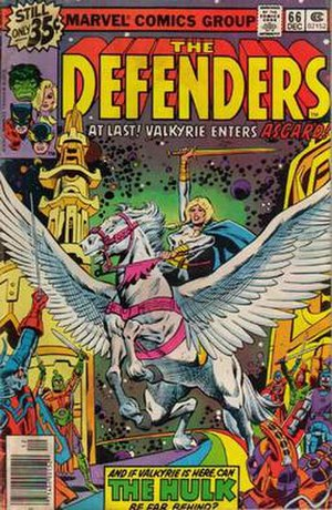 Valkyrie (Marvel Comics) - Image: Valkyrie Defenders 66
