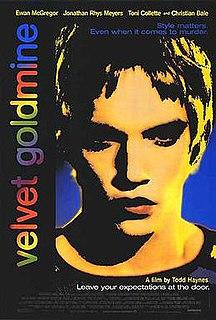 <i>Velvet Goldmine</i> 1998 film directed by Todd Haynes