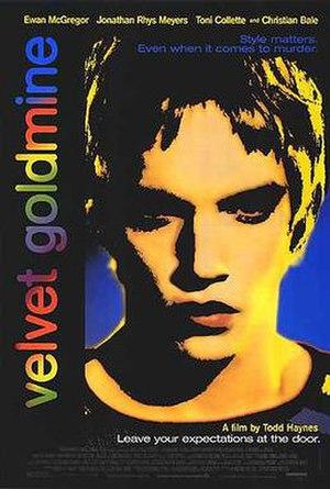 Velvet Goldmine - Theatrical release poster