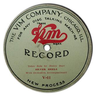 Vim Records - Vim Record Obverse